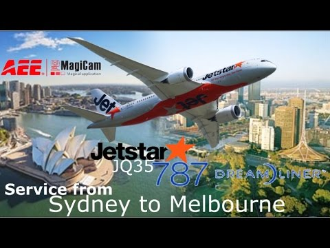 Real Flight: Jetstar 787, Sydney to Melbourne as JQ35