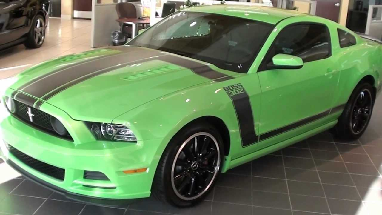 for sale 2013 mustang boss 302 gotta have it green stk 30074 youtube. Black Bedroom Furniture Sets. Home Design Ideas