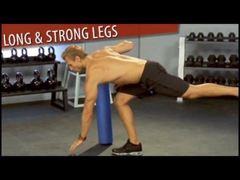 Long & Strong Legs Workout: Steve Jordan- Intermediate