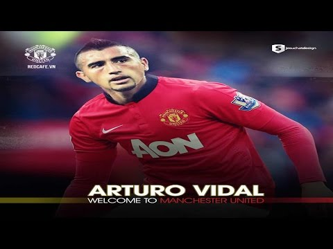 Arturo Vidal ◆Welcome To Manchester United◆|2014-2015|HD
