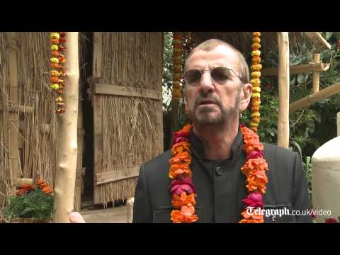 Ringo Starr at RHS Chelsea Flower Show 2013