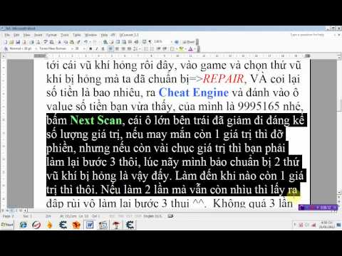 Cheat tiền bằng Cheat Engine (game Dead Island)-[Vietnamese]