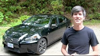 2014 Lexus GS 350 F Sport - Review & Test Drive
