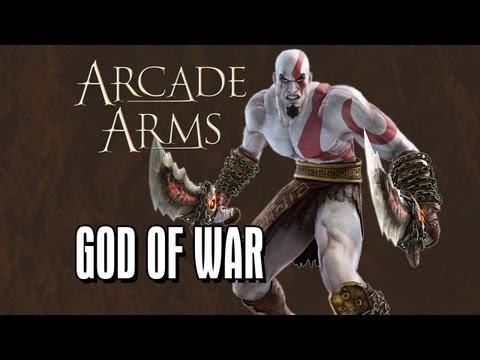 Kratos' Blades of Chaos - Arcade Arms: God of War Ascension