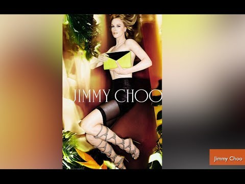 Nicole Kidman Looks Unrecognizable in Jimmy Choo Ads