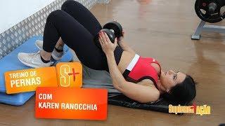 Karen Ranocchia - Levantamento de quadril com halter