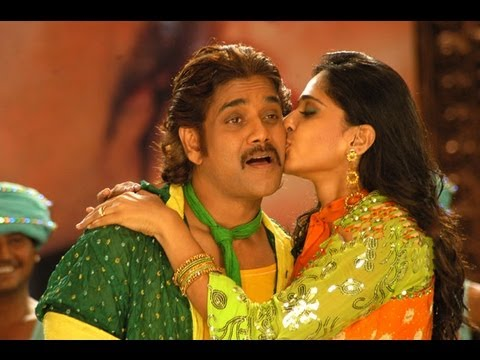 Don Telugu Movie || Dhada Puttistha Song With lyrics ||  Nagarjuna,Anushka