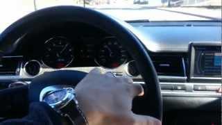 2007 Audi S8 with V10 5.2 liter Lamborghini Engine videos