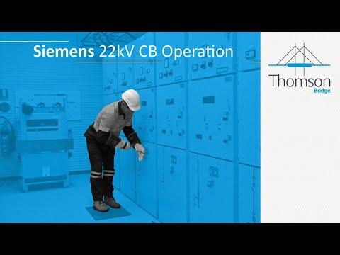 22kV Siemens Circuit Breaker Racking - Course Preview