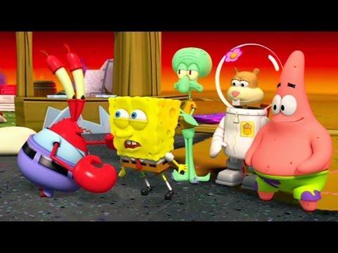 SpongeBob SquarePants: Plankton\'s Robotic Revenge - O Início - Bob Esponja Calça Quadrada gameplay