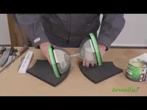 Armacell - Armaflex Sheet Two part bend 45 Application Video