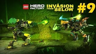 Lego Hero Factory Invasion From Below Evo Vs Queen Beast