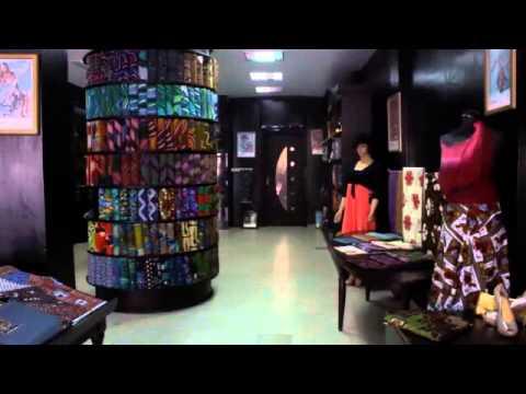 Les pagnes et l'élégance africaine par Dédé Barrigah, responsable boutique Deba Fashionista
