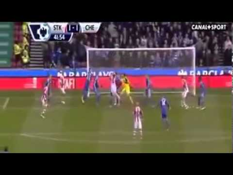 Chelsea vs stoke City 2-3 2013 goals & highlights