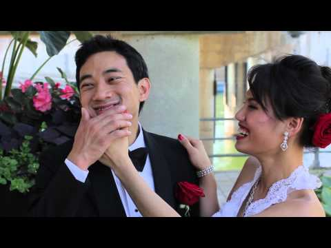 Ponora and Leakhena Wedding video