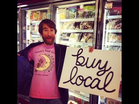 """BUY LOCAL Song"" - Chris Good & The Sweet Insurrection (Ann Arbor edition) Official Music Video"