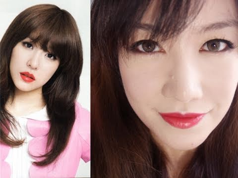 [SNSD] Tiffany's Red Lips - Makeup Tutorial