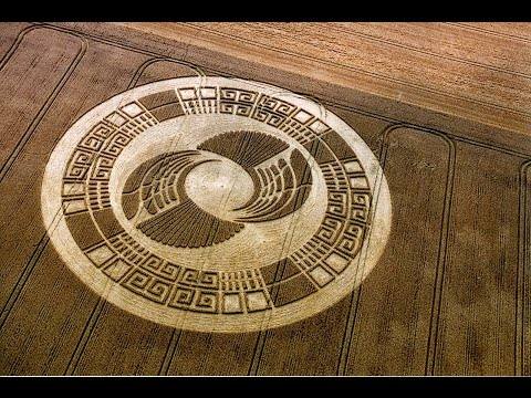 Bí ẩn những vòng tròn 3D tuyệt đẹp trên cánh đồng - KHOA HỌC HUYỀN BÍ