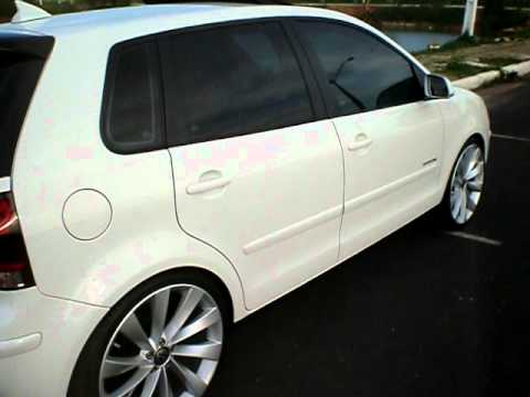 vw polo hatch sportline com rodas aro 19 youtube. Black Bedroom Furniture Sets. Home Design Ideas