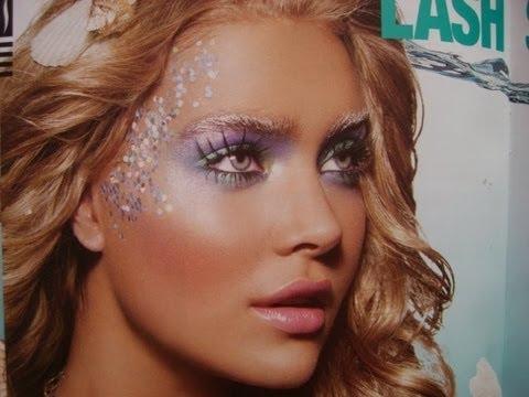 Halloween Mermaid Makeup Tutorial!