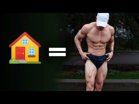 HOME Leg Day To Build Muscle | Day 22