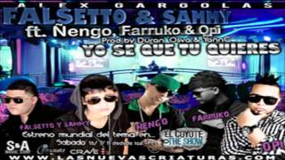 Yo Se Que Tu Quieres (Remix) Falsetto & Sammy Ft Ñengo