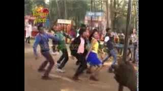 Khesari Lal And Priyanka Pandit At Hot Song Shoot Of Thje