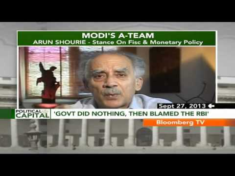 Political Capital- Modi's A-Team: Arun Shourie