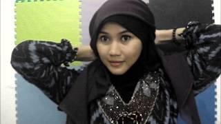 Tutorial Hijab Paris Simple Part #1