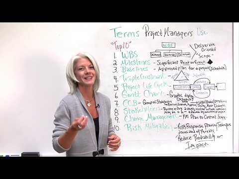 Top 10 Terms Project Managers Use - YouTube