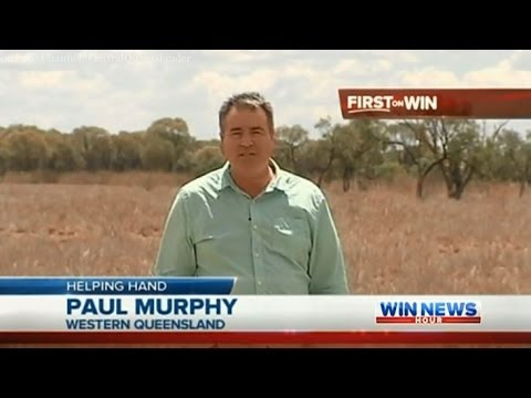 Qld Drought Coverage: SEQ Farmers Organise Hay Drive (Part 2) - WIN News Rockhampton (Dec 18, 2013)
