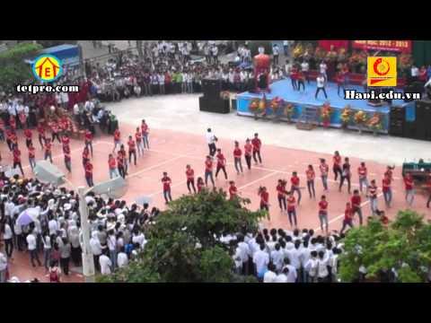Gangnam Style - Khai giảng ĐH Công Nghiệp Hà Nội (Hà Nội - Việt Nam) TETPRO Club