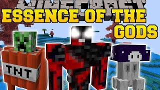 Minecraft: ESSENCE OF THE GODS (3 DIMENSIONS, WEAPONS