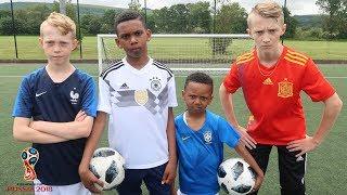 Kailem, Borisbone17, Lonnybone7 & Zizi WORLD CUP Football Challenge!!