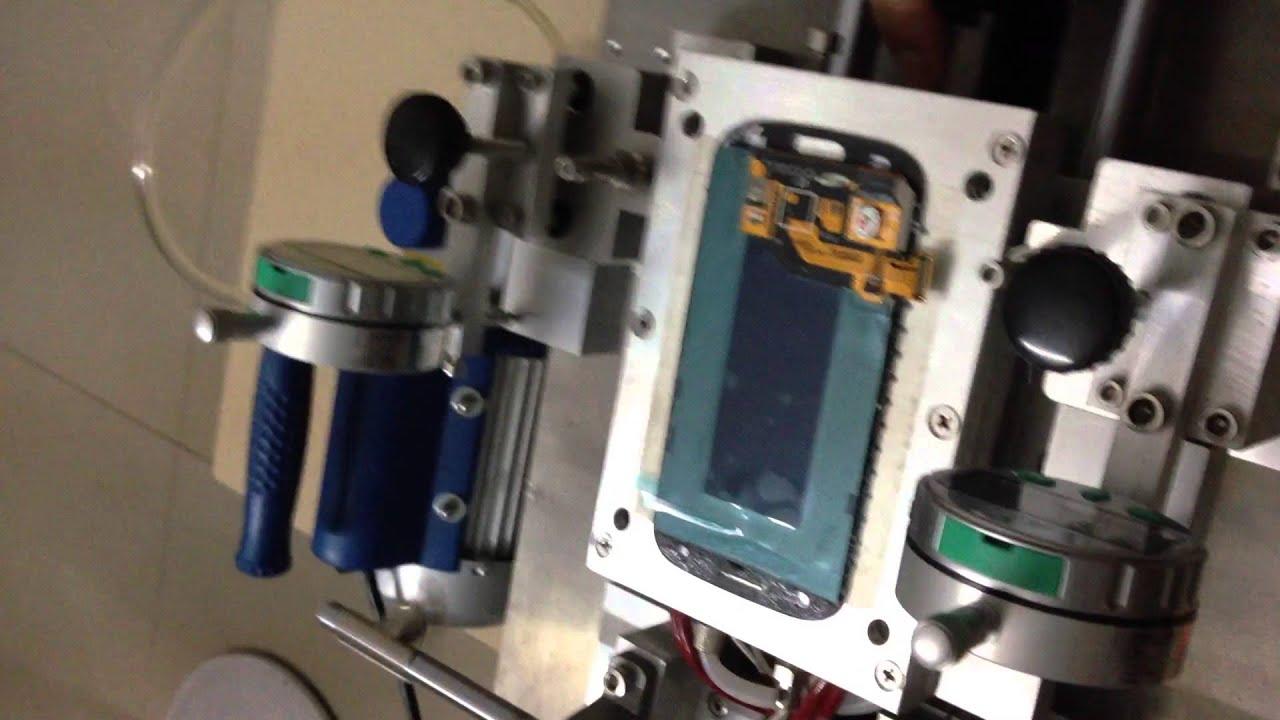 diy lcd separator machine