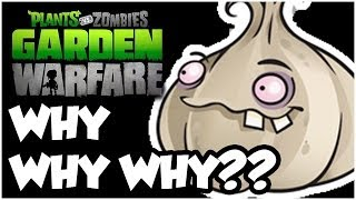 Plants vs. Zombies Garden Warfare - WHY WHY WHY?!?! Gameplay Walkthrough (1080p HD)