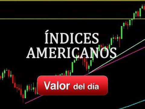 Trading en índices americanos por Terry M. Gallo en Estrategias Tv (19.08.14)