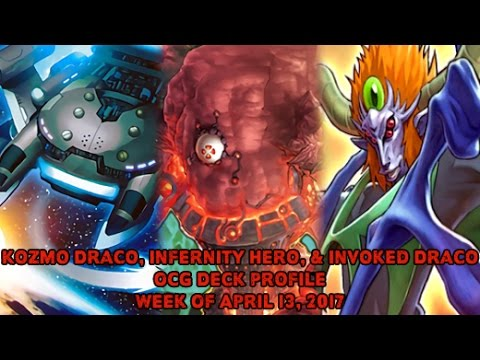 Kozmo, Infernoid Hero, & Invoked Dracos - Yugioh OCG Deck Profile April 13, 2017