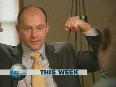 "The Daily Show - Rob Corddry: ""What about these guns?"","