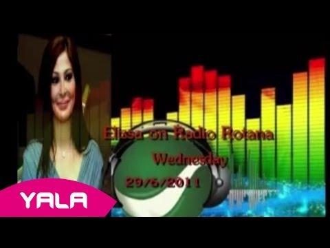 Elissa In Radio Rotana Part 6 / حوار اليسا على راديو روتانا الجزء السادس 29/06/2011
