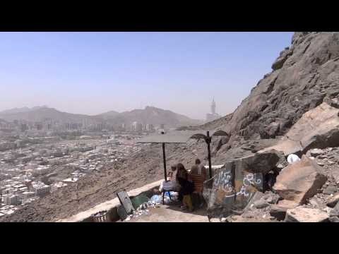 Albaik Food near Ghar-e-Hira jabl-e-noor on the mountain of Makkah 8 April 2013 in Saudi Arabia