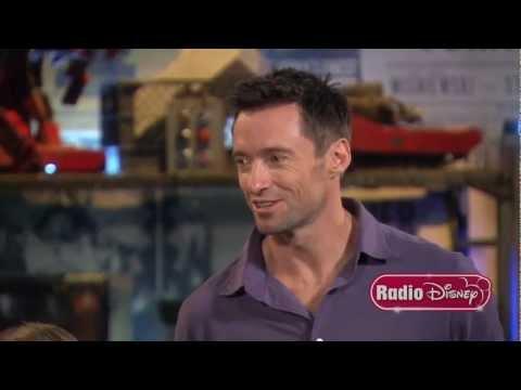 "Hugh Jackman & Dakota Goyo ""Real Steel"" Radio Disney Coversations with Candice"
