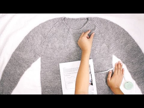 How to Block a Sweater That Fits