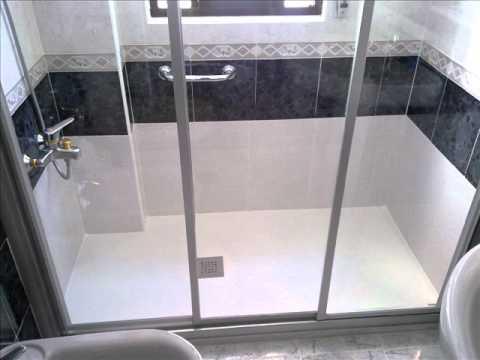 Cambiar ba era por ducha ejemplos reales youtube for Cambiar banera por ducha