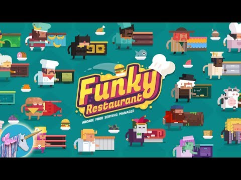 Funky Restaurant gameplay Arcade Food Serving Manager