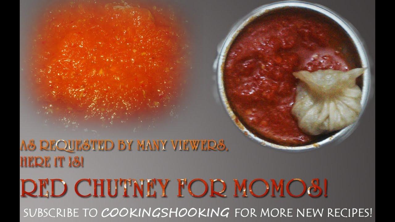 Red Chilli Chutney For Momos! | Momo Chutney | Hot n Spicy Chutney ...
