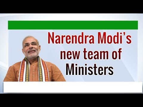 Modi Cabinet | Narendra Modi's new Team of Ministers