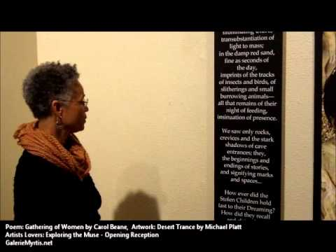 "Carol Bean ""Gathering of Women"" - Artists Lovers: Exploring the Muse"
