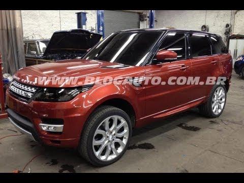 Land Rover Range Rover Sport 2013 - Recorde Pikes Peak - BlogAuto