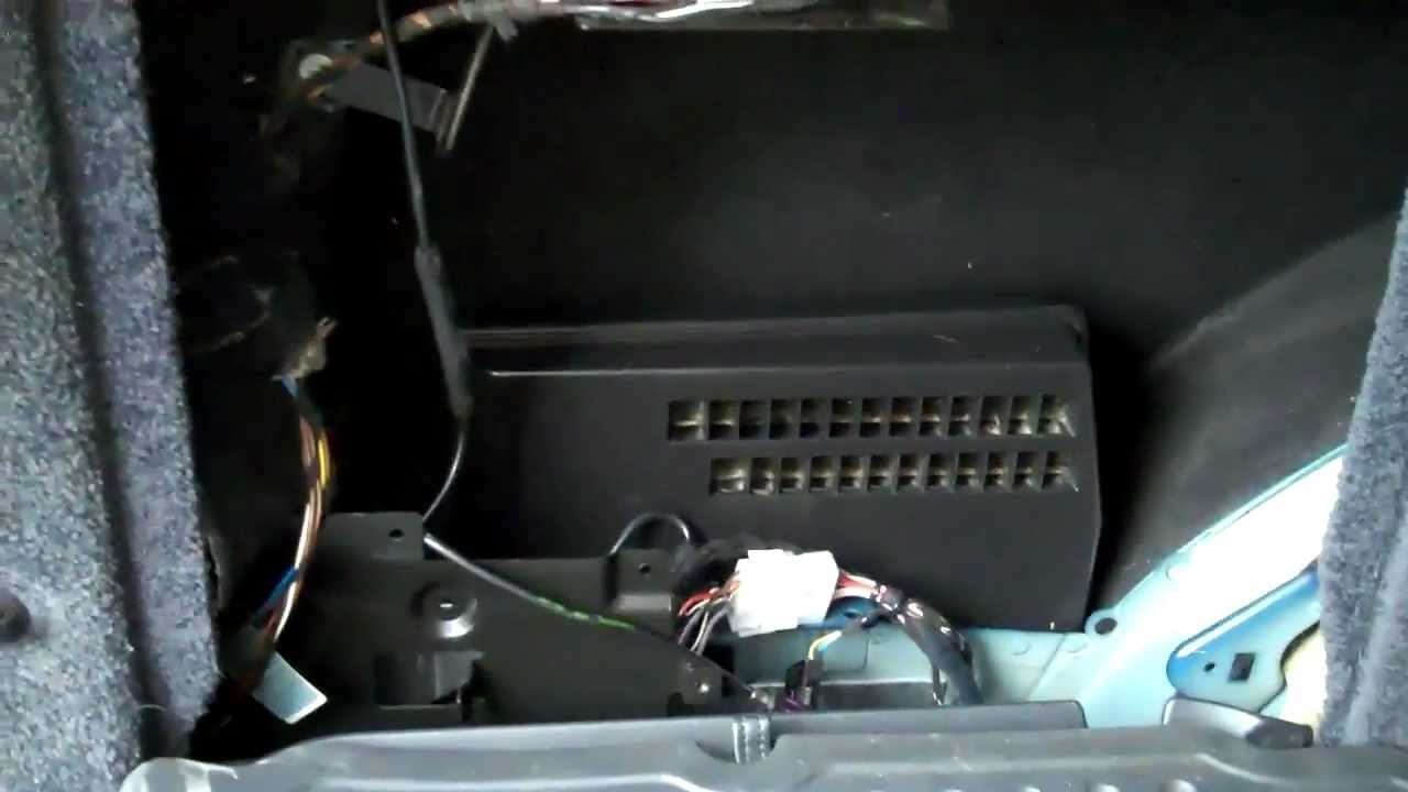 ford explorer radio wiring diagram 1996 range rover l322 audio amp location youtube  range rover l322 audio amp location youtube